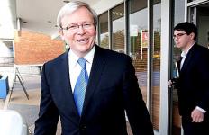 Selesai Operasi, Rudd Kampanye Lagi - JPNN.com