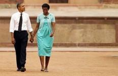 Michelle Obama Gaet Simpati Publik India - JPNN.com