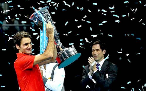 Gelar Spesial Federer Penutup Musim - JPNN.com