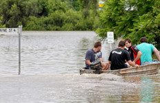 Banjir, Queensland jadi Danau - JPNN.com