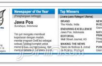 Jawa Pos Sisihkan Koran-Koran Besar Dunia - JPNN.com