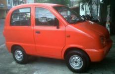 Mencoba Mobil Tawon, Mobil Mini Kreasi Pelajar SMK di Tangerang - JPNN.com
