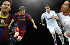 Lionel Messi Sudah Cetak 50 Gol, Cristiano Ronaldo Baru 40 Gol - JPNN.com