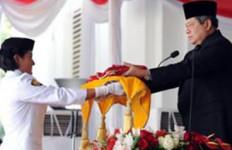 Lagu Bikinan SBY ikut Dinyanyikan di Upacara HUT RI ke 67 - JPNN.com