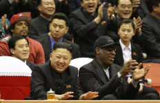 Persahabatan Dennis Rodman dan Kim Jong Un - JPNN.com