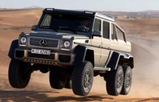Mercedes Luncurkan Off Roader Monster - JPNN.com
