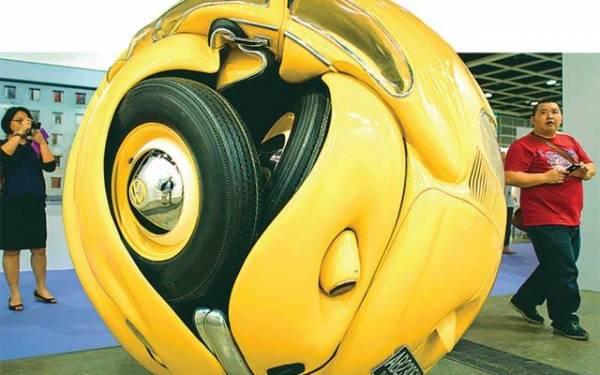 Ketika VW Beetle Jadi Bola Raksasa - JPNN.com