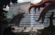 Godzilla Kalahkan Spiderman 2 - JPNN.com
