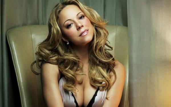 Mariah Carey Mengenakan Gaun Seksi Naik Subway - JPNN.com