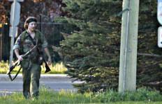 'Rambo' Mengamuk di Kanada, Tiga Polisi Tewas - JPNN.com