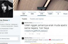 Kicauan Sherina Munaf Pilih Jokowi Jadi Trending Topic - JPNN.com