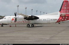 TransNusa Terima Pesawat ATR 42-600 Terbaru dari Perancis - JPNN.com