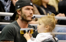David Beckham jadi Ayah Paling Top di Kalangan Selebriti - JPNN.com