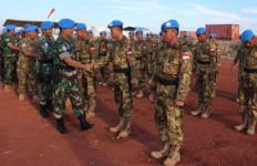 33 Prajurit TNI Naik Pangkat Saat Mengemban Misi PBB - JPNN.com