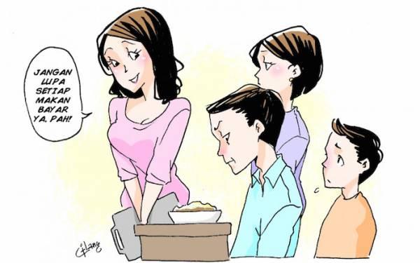 TERLALU! Pengusaha Katering Super-Perhitungan, Keluarga pun Harus Bayar Kalau Makan - JPNN.com
