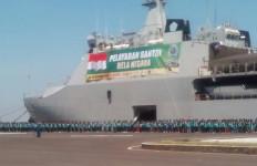 Upacara Militer Sambut 1.000 Santri Bela Negara - JPNN.com