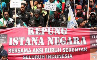 Pimpin Demo di Depan Istana, Sekjen KSPI Jadi Tersangka, Kok Bisa? - JPNN.com