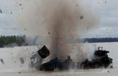 Duaarr... 4 Kapal Malaysia Diledakkan, Ini Fotonya - JPNN.com