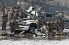 Duarrrr... Bom Bunuh Diri Meledak Dekat Bandara Kabul - JPNN.com