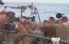 AS Malu Besar, 10 Personel Angkatan Laut-nya Ditangkap Iran (Ada Video) - JPNN.com