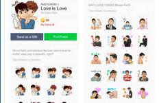 Tampilkan Sticker Dua Pria Berciuman, Aplikasi Banjir Kecaman - JPNN.com