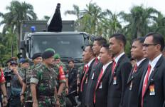 TNI-Polri Jaga Ketat Kawasan Senayan - JPNN.com