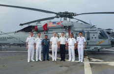 Pangarmabar dan Para Panglima Armada AL AS, dan ASEAN Gelar Pertemuan - JPNN.com