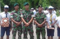 TNI HEBAT! Persiapkan Duta Generasi Muda di Perbatasan RI-Timor Leste - JPNN.com
