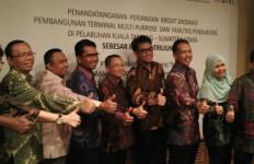 Mantap, Tiga Perbankan BUMN ini Biayai Pembangunan Proyek Terminal Kuala Tanjung - JPNN.com