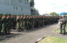 KRI yang Membawa Pasukan Siliwangi Akhirnya Tiba di Makassar, Selanjutnya... - JPNN.com