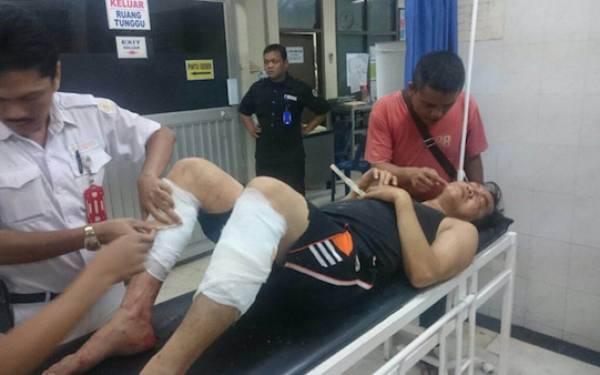 Dor! Dor! Dua Kaki Pembobol Mobil Ditembak, Lihat Deh Mukanya - JPNN.com