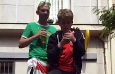 Mengharukan! Fans Wales dan Irlandia Utara Gelar Tali Kasih - JPNN.com