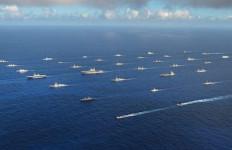 LIHAT Nih, Armada Tempur Memadati Pelabuhan Harbor, TNI AL Merasa Terhormat - JPNN.com