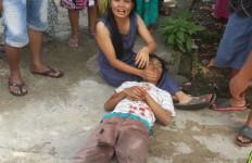 Duel Maut! Berdarah-darah, Gara-gara Istri Dibawa Kabur? - JPNN.com