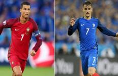 Portugal vs Prancis, Duel Ikon Bernomor 7 - JPNN.com
