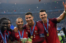 Kesuksesan Portugal Juara Euro 2016 Bagai Film Hollywood - JPNN.com