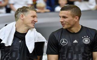 Simak Saran Legenda Jerman untuk Podolski dan Schweinsteiger