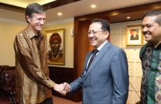 Akhiri Masa Tugasnya, Dubes AS Kunjungi Ketua DPD RI - JPNN.com