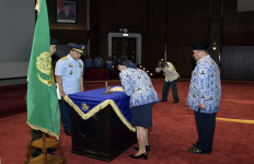 Lihat Nih, Dokter Widya Resmi Pimpin Korpri TNI - JPNN.com