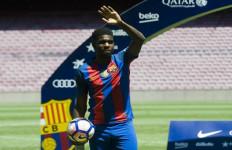 Resmi diperkenalkan ke Publik Camp Nou, Ini Ungkapan Samuel Umtiti - JPNN.com