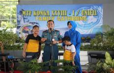 Mengharukan, Family Gathering Satgas TNI Jelang Bertugas di Lebanon - JPNN.com