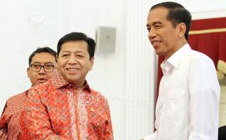 HAH...Golkar Berambisi Sandingkan Pak Jokowi dengan Papa Novanto? - JPNN.com