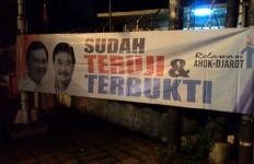 Spanduk Ahok-Djarot Kembali Hiasi Jalan Jakarta - JPNN.com