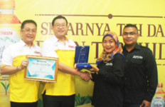 Fiesta White Tea Memperoleh Best Innovator In White Tea - JPNN.com