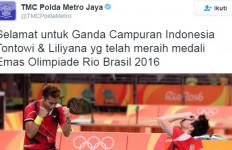 Polda Metro Jaya: Selamat Untuk Tontowi dan Liliyana - JPNN.com