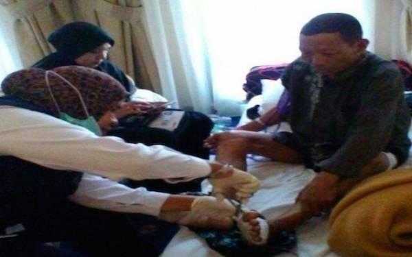 Empat Jamaah Kloter Delapan Dirawat di Rumah Sakit - JPNN.com