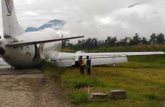 Prihatin, Trigana Air kok Mendarat Tanpa Roda Belakang - JPNN.com
