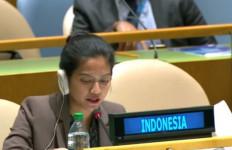 Diplomat Cantik Indonesia Semprot Enam Negara di Forum PBB - JPNN.com