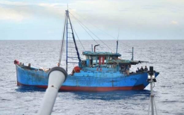 Lagi, Kapal Berbendera Vietnam Ditangkap - JPNN.com