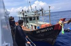 4 Kapal Pencuri Ikan Asal Malaysia dan Vietnam Ditangkap - JPNN.com